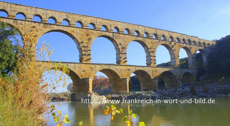 """Blog """"Frankreich-in-Wort-und-Bild"""" Pont du Gard"""