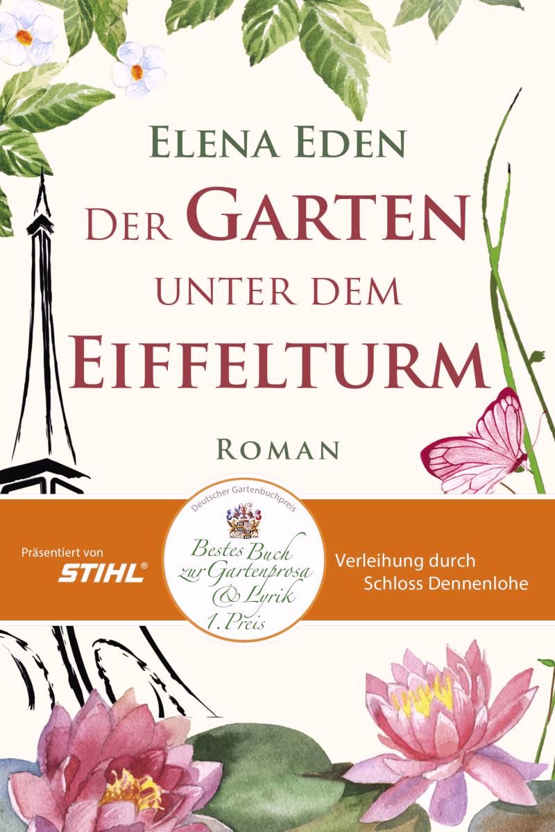 Elena Eden mit Buchpreis ausgezeichnet – Buchverlosung