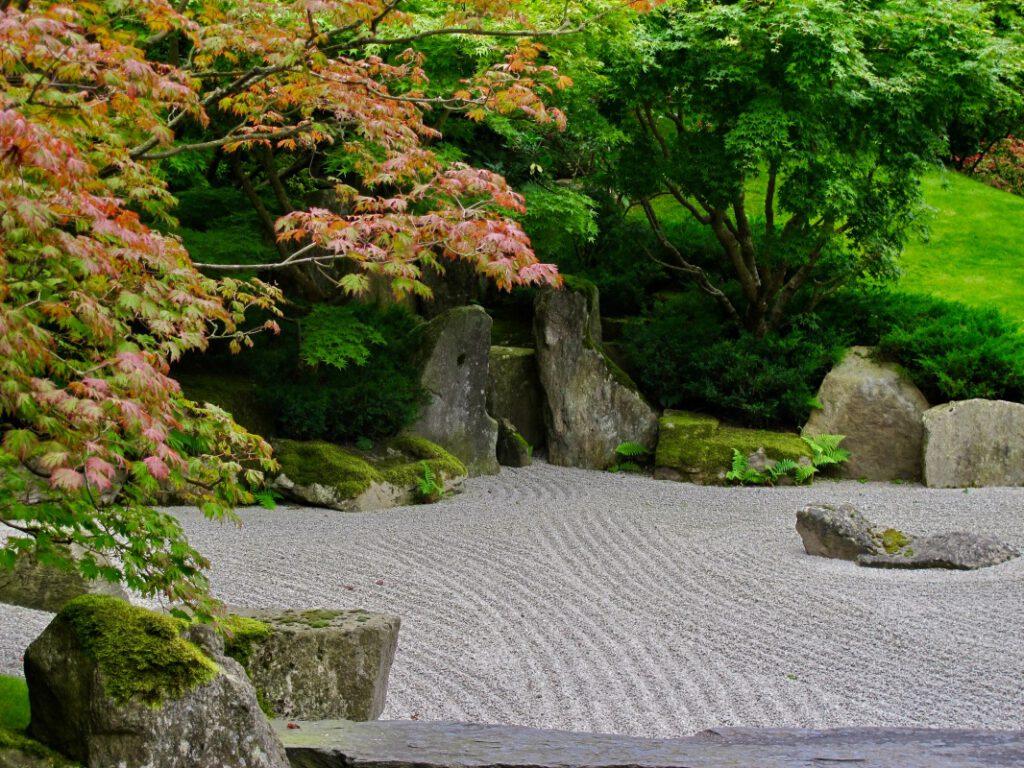 Lesung nahe des Japanischen Gartens in Berlin